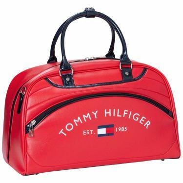 トミー ヒルフィガー ゴルフ ロゴ刺繍 ボストンバッグ THMG1SBB 40 レッド 2021年モデル レッド(40)