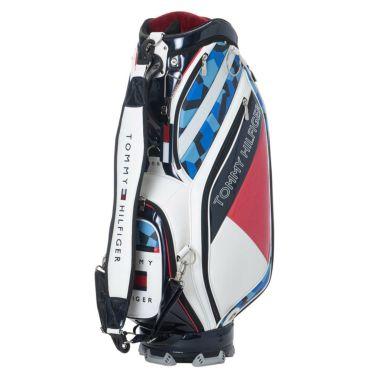 トミー ヒルフィガー ゴルフ フラッグ キャディバッグ THMG1SC2 00 ホワイト 2021年モデル ホワイト(00)
