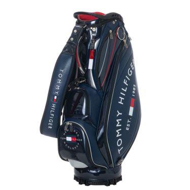 トミー ヒルフィガー ゴルフ ラウンドロゴ キャディバッグ THMG1SC3 30 ネイビー 2021年モデル 詳細1