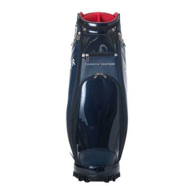 トミー ヒルフィガー ゴルフ ラウンドロゴ キャディバッグ THMG1SC3 30 ネイビー 2021年モデル 詳細3