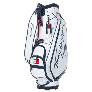 トミー ヒルフィガー ゴルフ オールエナメル キャディバッグ THMG1SC4 00 ホワイト 2021年モデル ホワイト(00)