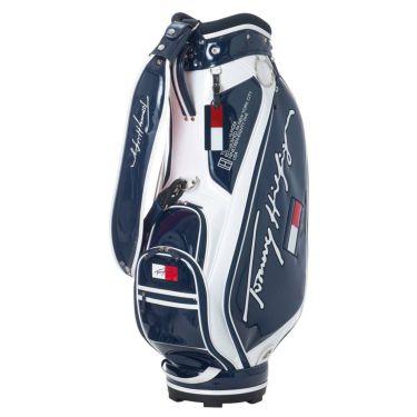 トミー ヒルフィガー ゴルフ オールエナメル キャディバッグ THMG1SC4 30 ネイビー 2021年モデル ネイビー(30)