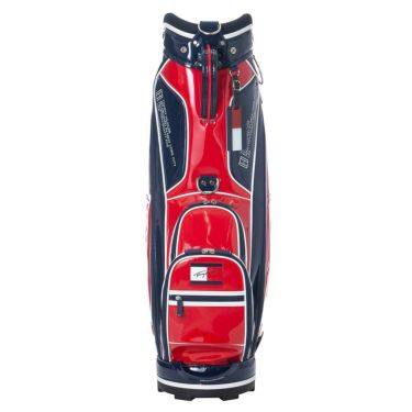 トミー ヒルフィガー ゴルフ オールエナメル キャディバッグ THMG1SC4 40 レッド 2021年モデル 詳細2