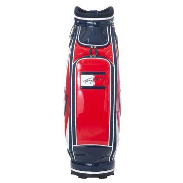 トミー ヒルフィガー ゴルフ オールエナメル キャディバッグ THMG1SC4 40 レッド 2021年モデル 詳細3