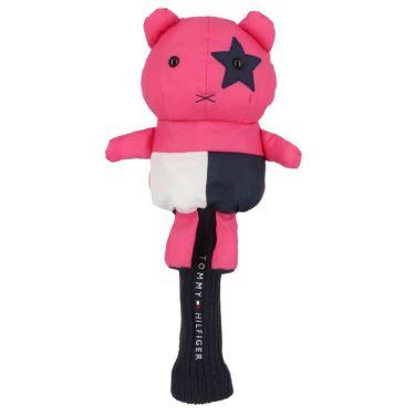 トミー ヒルフィガー ゴルフ マスコット ヘッドカバー ドライバー用 THMG7FH6 48 ピンク ピンク(48)
