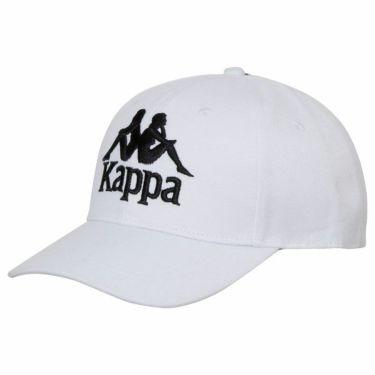 【fw特価】△カッパ Kappa ユニセックス 立体ロゴ刺繍 キャップ KG958HW31 WT ホワイト ホワイト(WT)