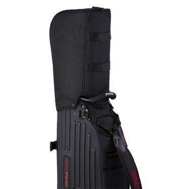 ピン PING ワンポケット メンズ キャディバッグ CB-P211 35540-01 Black 2021年モデル 詳細2