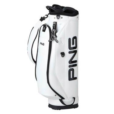ピン PING ワンポケット メンズ キャディバッグ CB-P212 35541-01 White 2021年モデル White