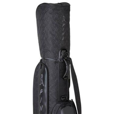 ピン PING PP58 メンズ キャディバッグ CB-U211 35543-01 Black 2021年モデル 詳細2