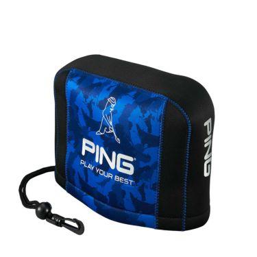 ピン PING カモ柄 アイアンカバー HC-C211 35536-02 Blue 2021年モデル Blue