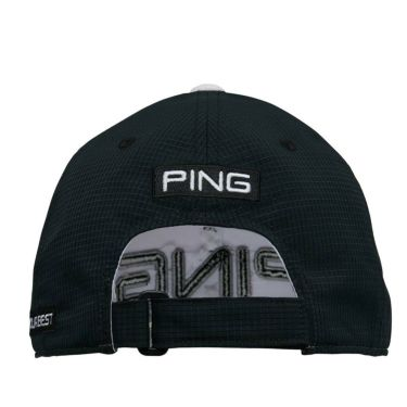 ピン PING ドットエアー メンズ キャップ HW-P211 35512-01 White/Black 2021年モデル 詳細1