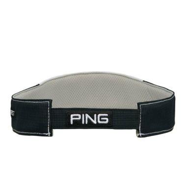 ピン PING ドットエアー メンズ バイザー HW-P212 35513-01 White/Black 2021年モデル 詳細1