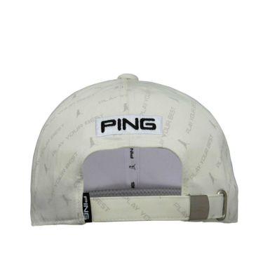 ピン PING P.Y.Bプリント メンズ キャップ HW-U212 35518-01 White 2021年モデル 詳細1