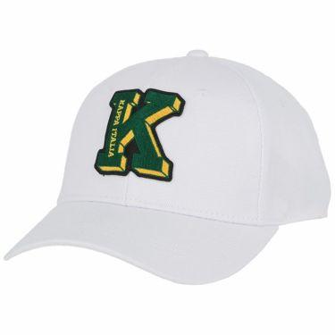 カッパ Kappa メンズ ロゴワッペン キャップ KG958HW44 WT ホワイト ホワイト(WT)