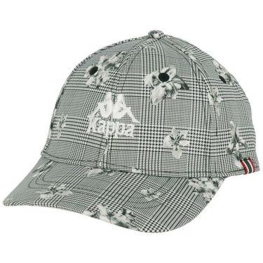 カッパ Kappa メンズ ロゴ刺繍 総柄プリント キャップ KGA58HW01 WT1 ホワイト1 2020年モデル ホワイト1(WT1)