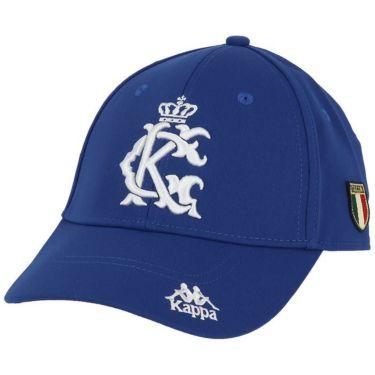 カッパ Kappa メンズ 立体ロゴ刺繍 キャップ KGA58HW02 BL ブルー 2020年モデル ブルー(BL)