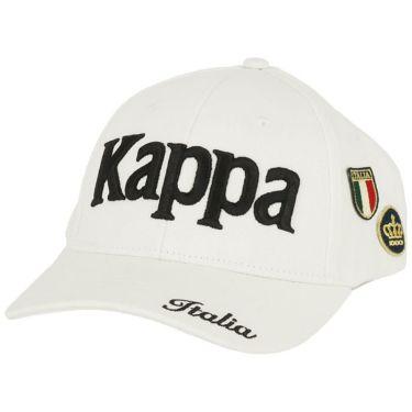 カッパ Kappa メンズ 立体ロゴ刺繍 ワッペン キャップ KGA58HW04 WT ホワイト 2020年モデル ホワイト(WT)