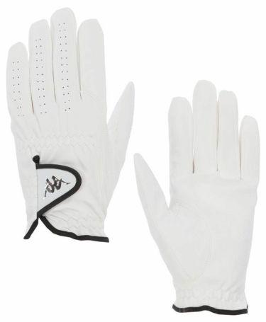 カッパ Kappa ユニセックス 左手用 ゴルフグローブ KGA58GL11 WT ホワイト 2020年モデル 詳細2