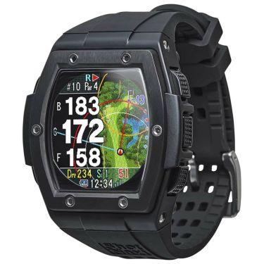 ショットナビ Shot Navi Crest クレスト 腕時計型GPSゴルフナビ ブラック ブラック