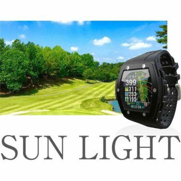 ショットナビ Shot Navi Crest クレスト 腕時計型GPSゴルフナビ ブラック 詳細1
