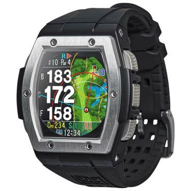 ショットナビ Shot Navi Crest クレスト 腕時計型GPSゴルフナビ シルバー シルバー