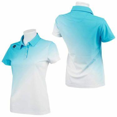 デサントゴルフ JAPAN NATIONAL TEAM プレイングモデル ライジング グラデーション レディース 半袖 ポロシャツ DGWPJA01OP 2021年モデル 詳細3