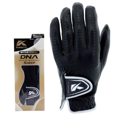 キャスコ DNA SHEEP シープ メンズ ゴルフグローブ GF-2012 BK ブラック 2021年モデル ブラック(BK)