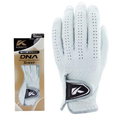 キャスコ DNA SHEEP シープ メンズ ゴルフグローブ GF-2012 WH ホワイト 2021年モデル ホワイト(WH)