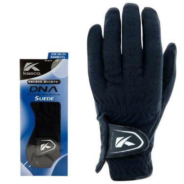 キャスコ DNA SUEDE スエード メンズ ゴルフグローブ SF-2010 BK ブラック 2021年モデル ブラック(BK)