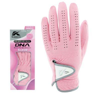 キャスコ DNA SUEDE スエード レディース ゴルフグローブ SF-2010L PK ピンク 2021年モデル ピンク(PK)