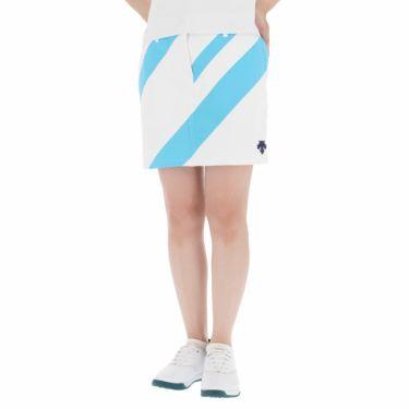 デサントゴルフ JAPAN NATIONAL TEAM プレイングモデル インナーパンツ一体型 ライジング ストレッチ レディース スカート DGWPJE00OP サックス(SA00)