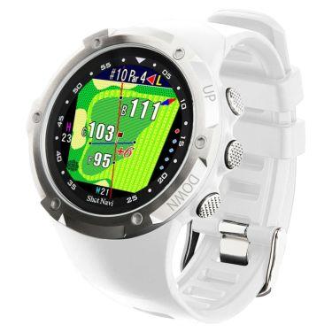 ショットナビ Shot Navi W1 Evolve エボルブ 腕時計型 GPSゴルフナビ ホワイト