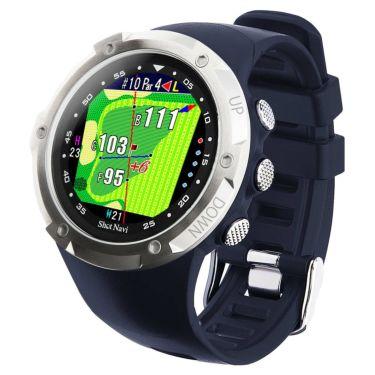 ショットナビ Shot Navi W1 Evolve エボルブ 腕時計型 GPSゴルフナビ ネイビー