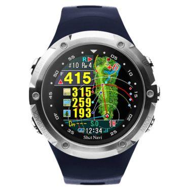 ショットナビ Shot Navi W1 Evolve エボルブ 腕時計型 GPSゴルフナビ ネイビー 詳細1