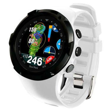 ショットナビ Shot Navi W1 Evolve エボルブ 腕時計型 GPSゴルフナビ ホワイト×ブラック