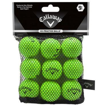 キャロウェイ HX PRACTICE BALLS HXプラクティスボール ライム 9個入り 練習用ソフトボール 070021500050 詳細1