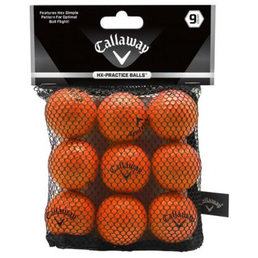 キャロウェイ HX PRACTICE BALLS HXプラクティスボール オレンジ 9個入り 練習用ソフトボール 070021500052 詳細1