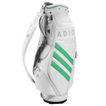 アディダス adidas W PU CB スリーストライプ レディース キャディバッグ EMH91 GT5926 ホワイト/グリーン(GT5926)