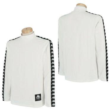 カッパ Kappa メンズ ロゴテープ 裏起毛 長袖 ハイネックシャツ KGA52LS31 2020年モデル 詳細3
