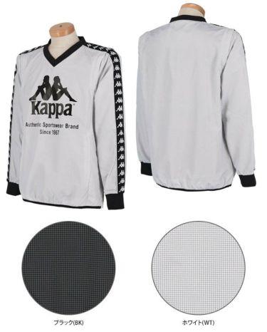 カッパ Kappa メンズ 千鳥格子柄 撥水 2WAY 長袖 Vネック スニードジャック KGA52WT32 2020年モデル 詳細3