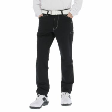 カッパ Kappa メンズ 撥水 ストレッチ ロングパンツ KGA52PA01 2020年モデル [裾上げ対応1●] ブラック(BK)