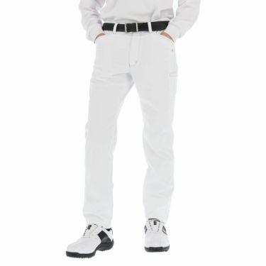 カッパ Kappa メンズ 撥水 ストレッチ ロングパンツ KGA52PA01 2020年モデル [裾上げ対応1●] ホワイト(WT)