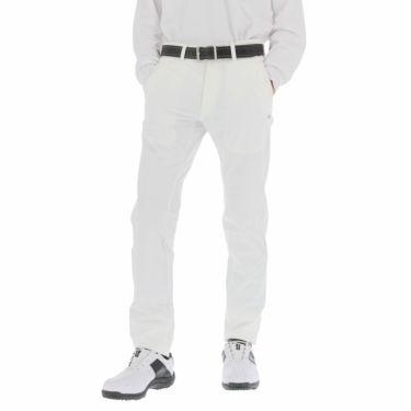 カッパ Kappa メンズ 撥水 ストレッチ ロングパンツ KGA52PA02 2020年モデル [裾上げ対応1●] ホワイト(WT)