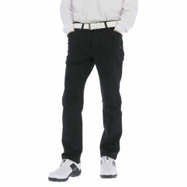 カッパ Kappa メンズ モールスキン ストレッチ ロングパンツ KGA52PA03 2020年モデル [裾上げ対応1●] ブラック(BK)