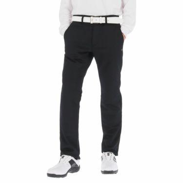 カッパ Kappa メンズ 裏起毛 撥水 ロングパンツ KGA52PA06 2020年モデル [裾上げ対応1●] ブラック(BK)
