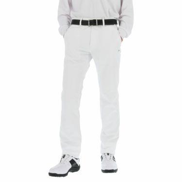 カッパ Kappa メンズ 裏起毛 撥水 ロングパンツ KGA52PA06 2020年モデル [裾上げ対応1●] ホワイト(WT)