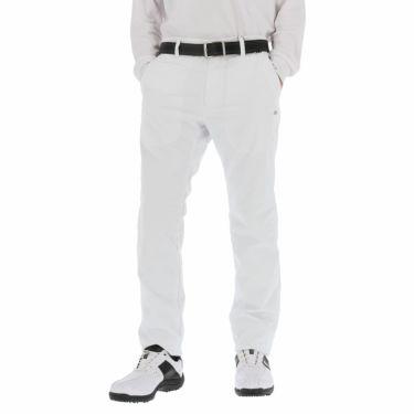 カッパ Kappa メンズ メッシュ裏地 撥水 ロングパンツ KGA52PA08 2020年モデル [裾上げ対応1●] ホワイト(WT)