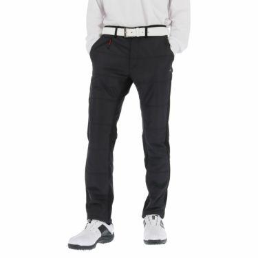 カッパ Kappa メンズ 生地切替 中綿 ロングパンツ KGA52PA09 2020年モデル [裾上げ対応4●] ブラック(BK)