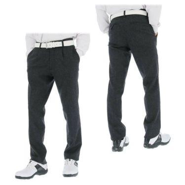 ブラック&ホワイト Black&White メンズ ウール混 ワンタック ストレッチ ロングパンツ BGF5100EE 2020年モデル [裾上げ対応1] 詳細3