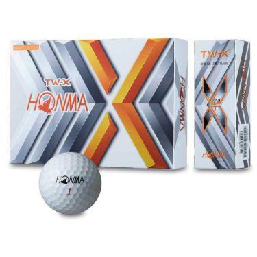 本間ゴルフ TW X ゴルフボール 3ダースセット(12球入り×3箱) 2019年モデル